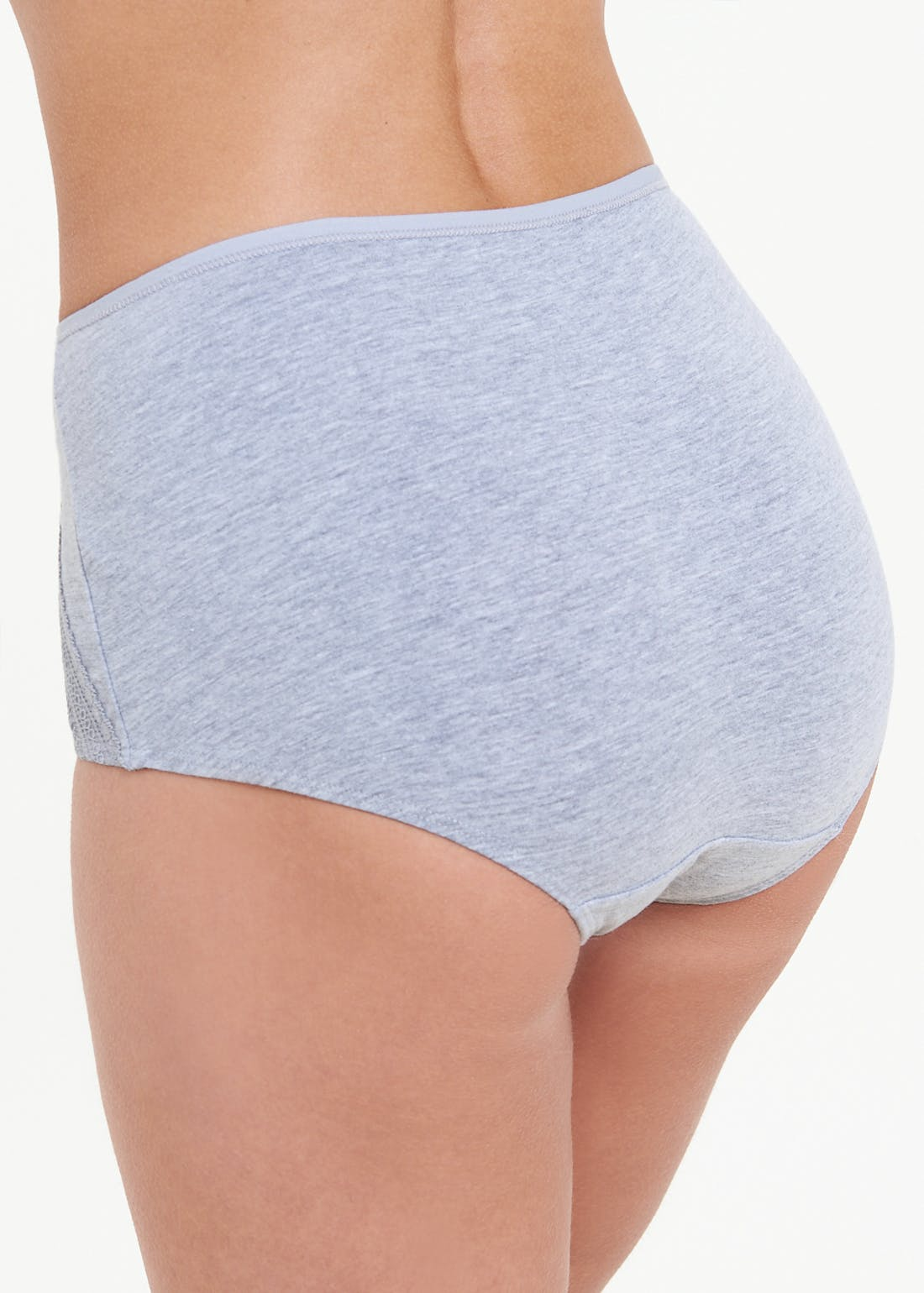 3 Pack Lace Front Full Knickers