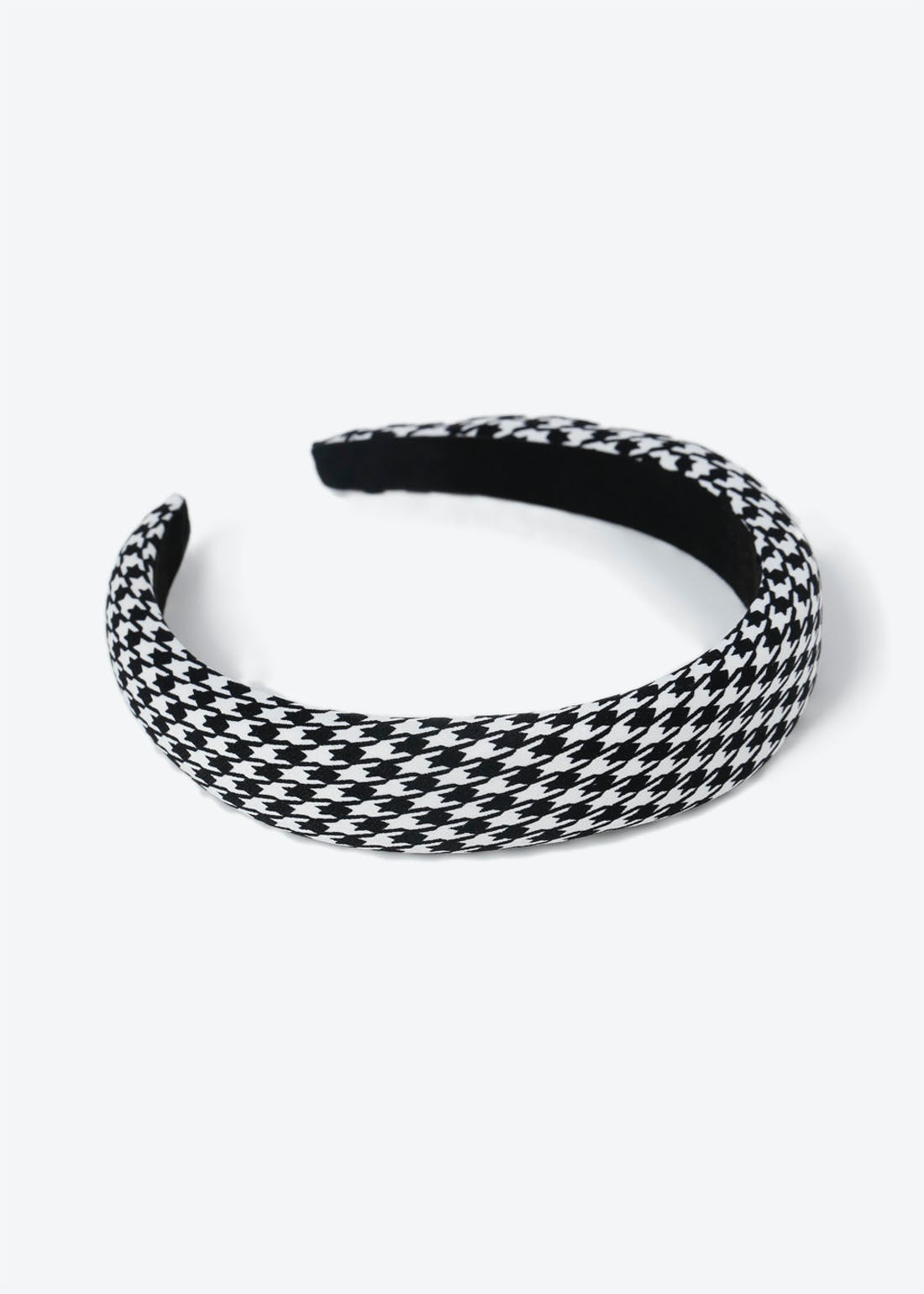 Black & White Puff Headband
