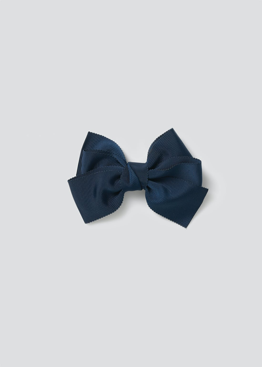 Girls Back to School Navy Bow