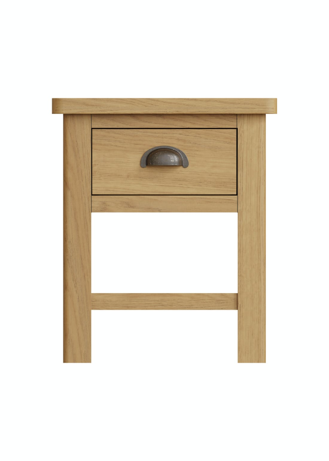 Interiors Direct Reanne Lamp Table (47cm x 40cm x 36cm)