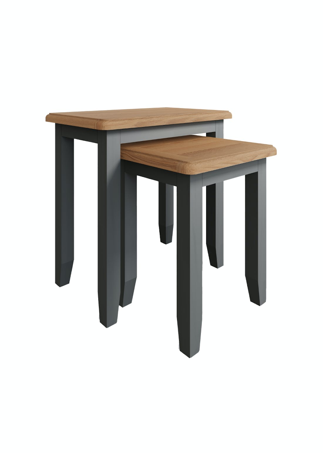 Interiors Direct Grayson Nest of 2 Tables (50cm x 50cm x 32cm)