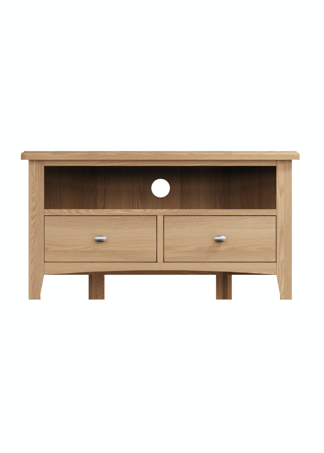 Interiors Direct Grayson Corner TV Unit (90cm x 48cm x 44cm)