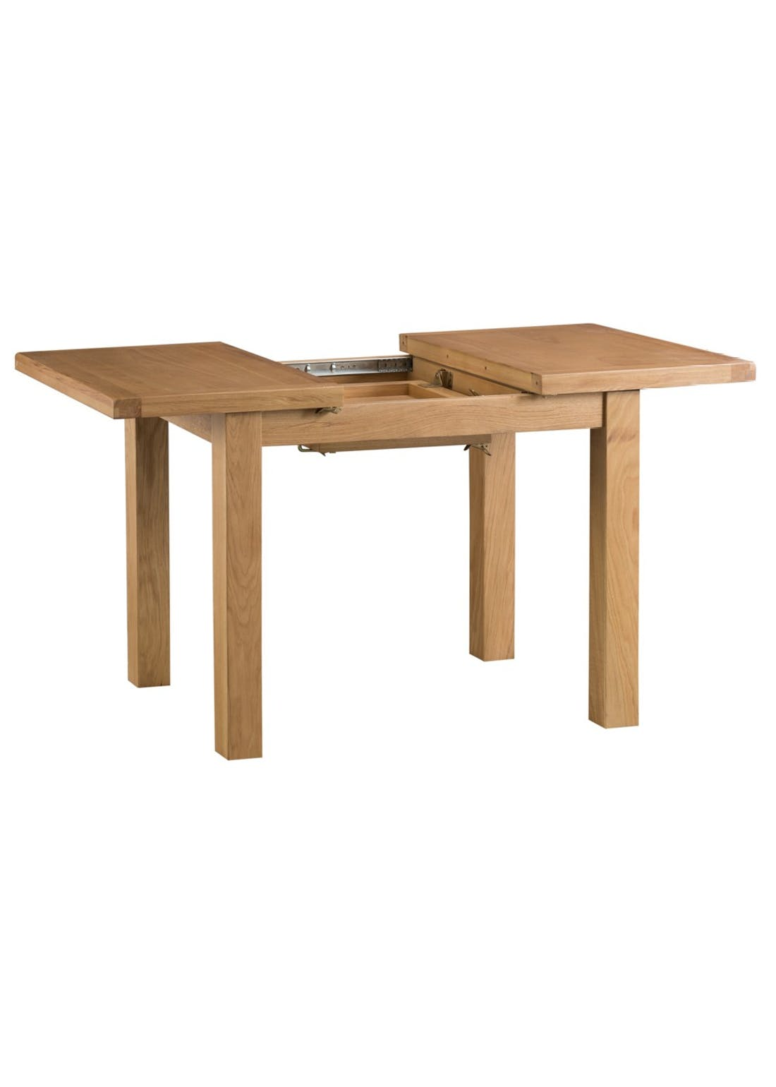 Interiors Direct Coburn Butterfly Extending Table (125cm x 85cm x 78cm)