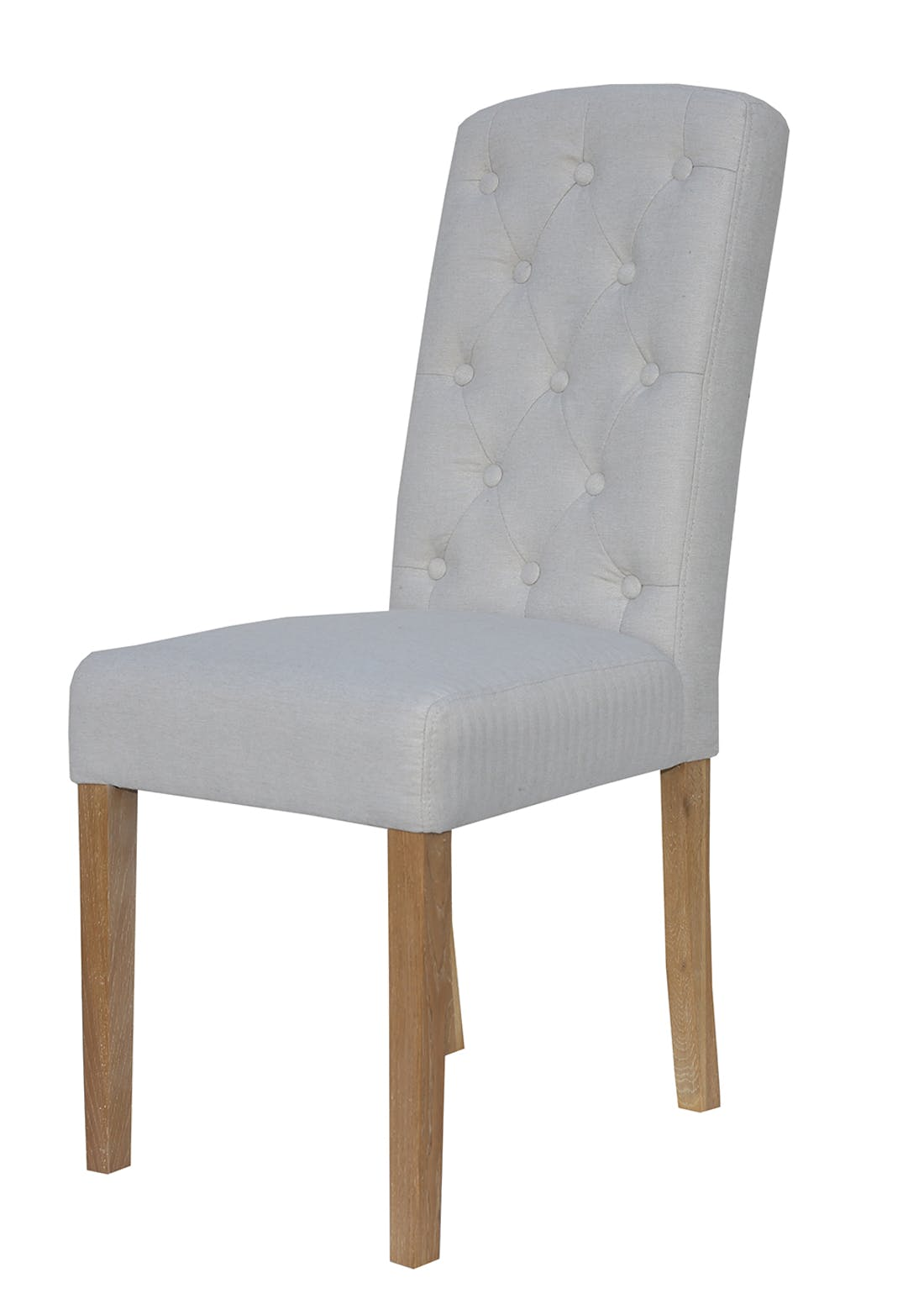 Interiors Direct 2 Pack Arundel Button Back Chairs (101cm x 62cm x 43cm)