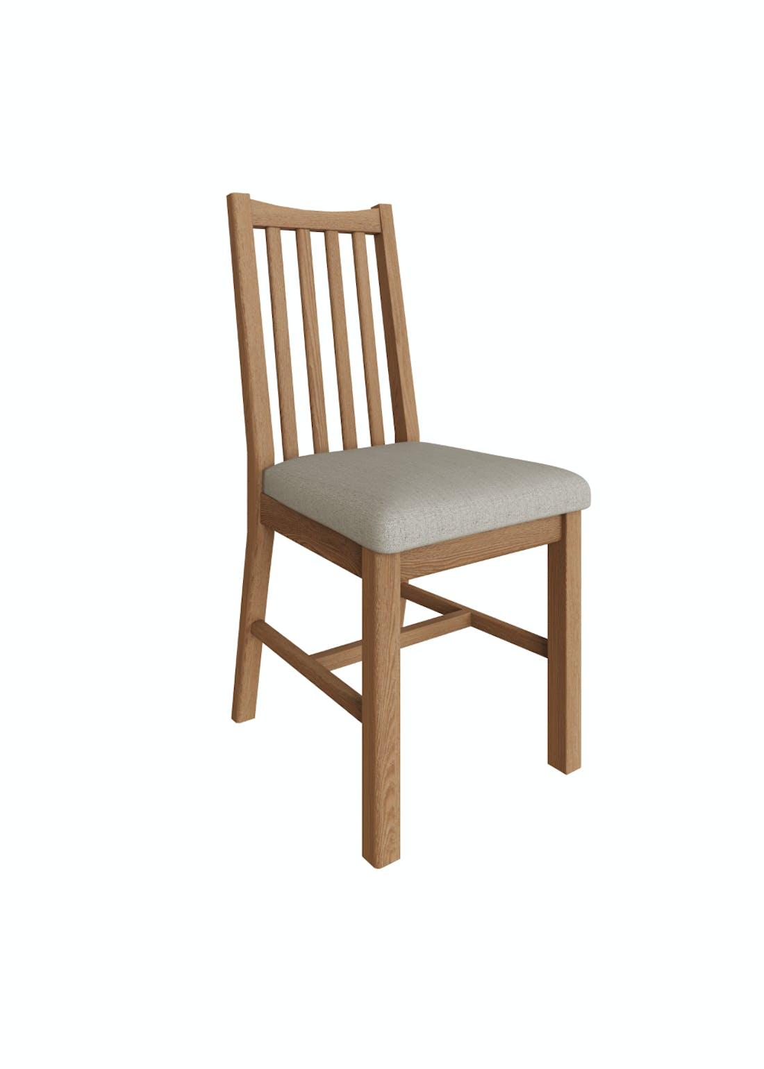 Interiors Direct 2 Pack Grayson Dining Chairs (91cm x 52cm x 42cm)