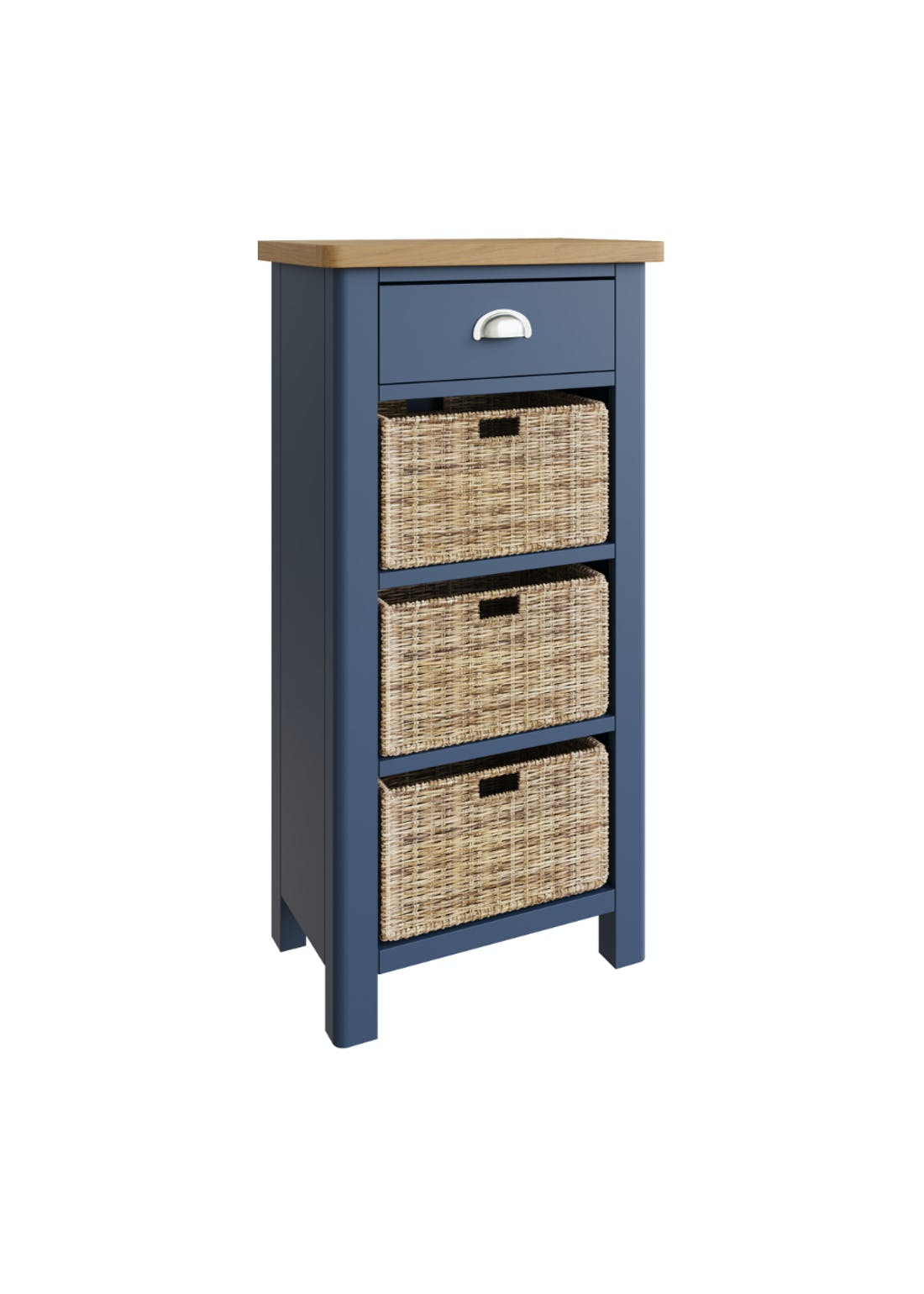 Interiors Direct Reanne 4 Drawer Storage Unit (100cm x 50cm x 30cm)