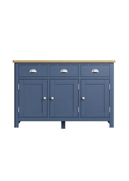 Interiors Direct Reanne 3 Door Sideboard (130cm x 85cm x 40cm)