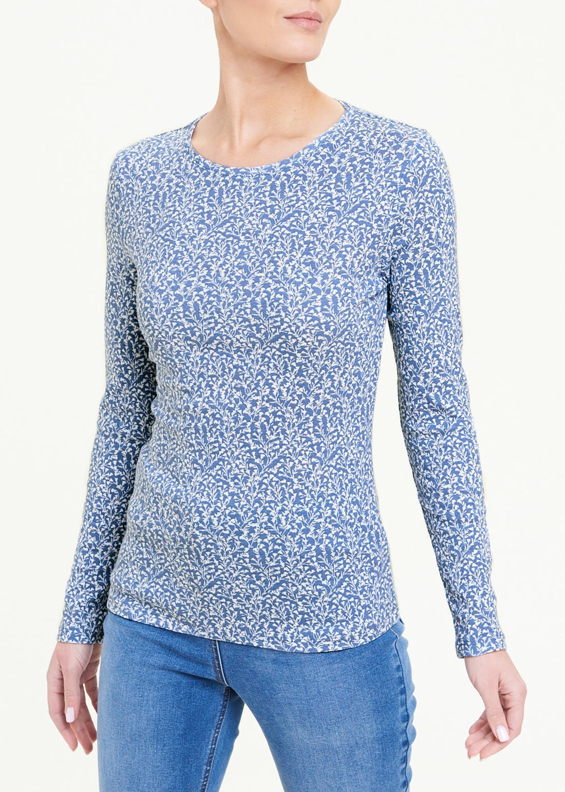 Perfect Long Sleeve Floral T-Shirt