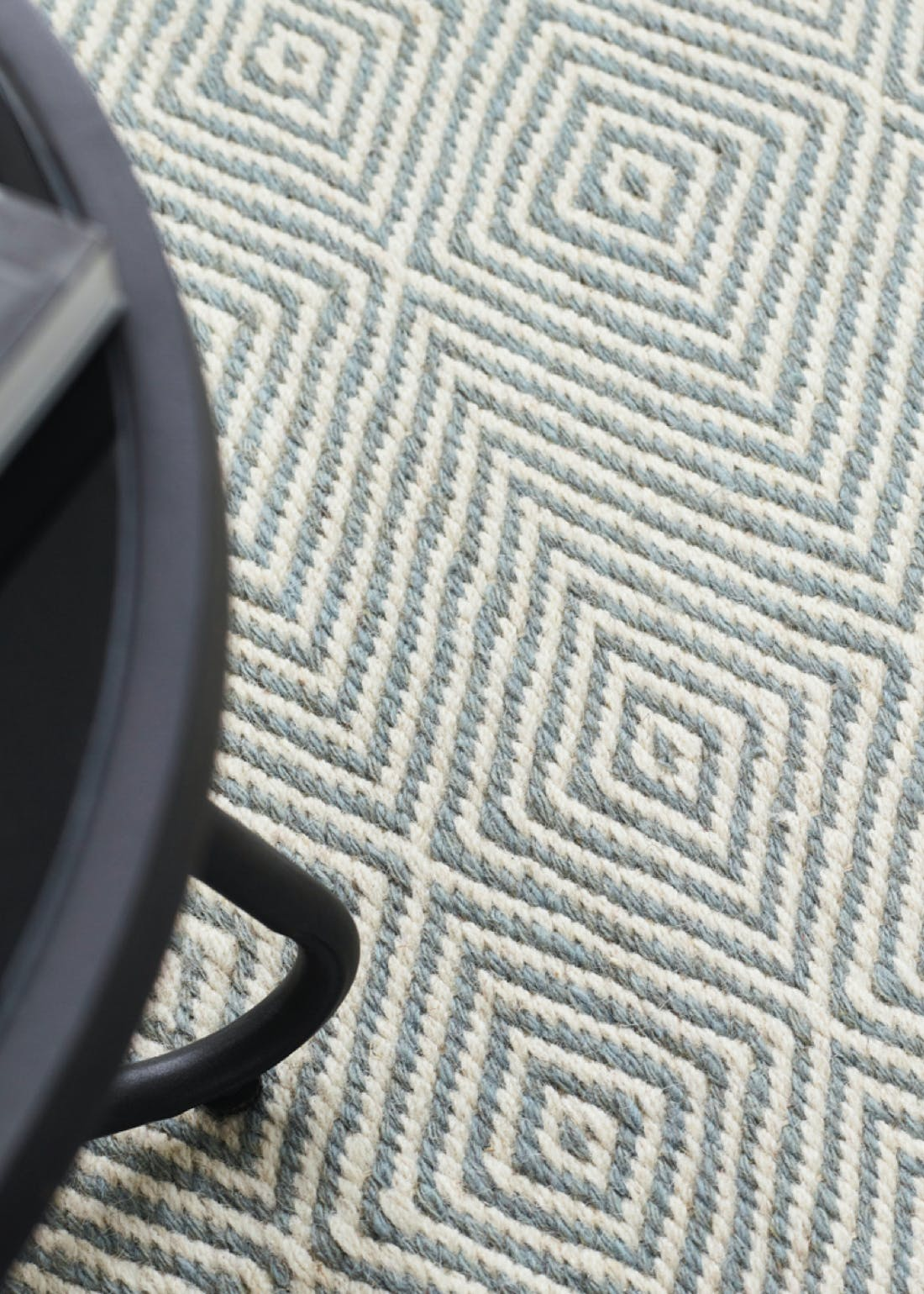 Origins Grey Estelle Sky Wool Rug
