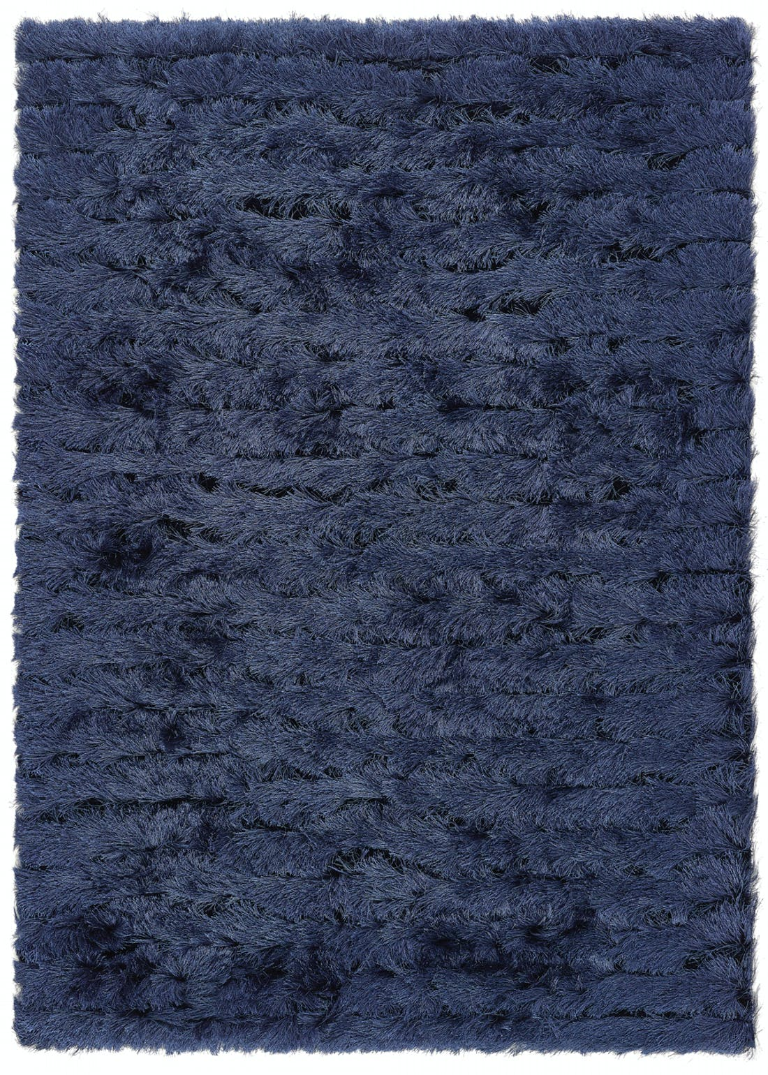 Origins Navy Carved Glamour Rug
