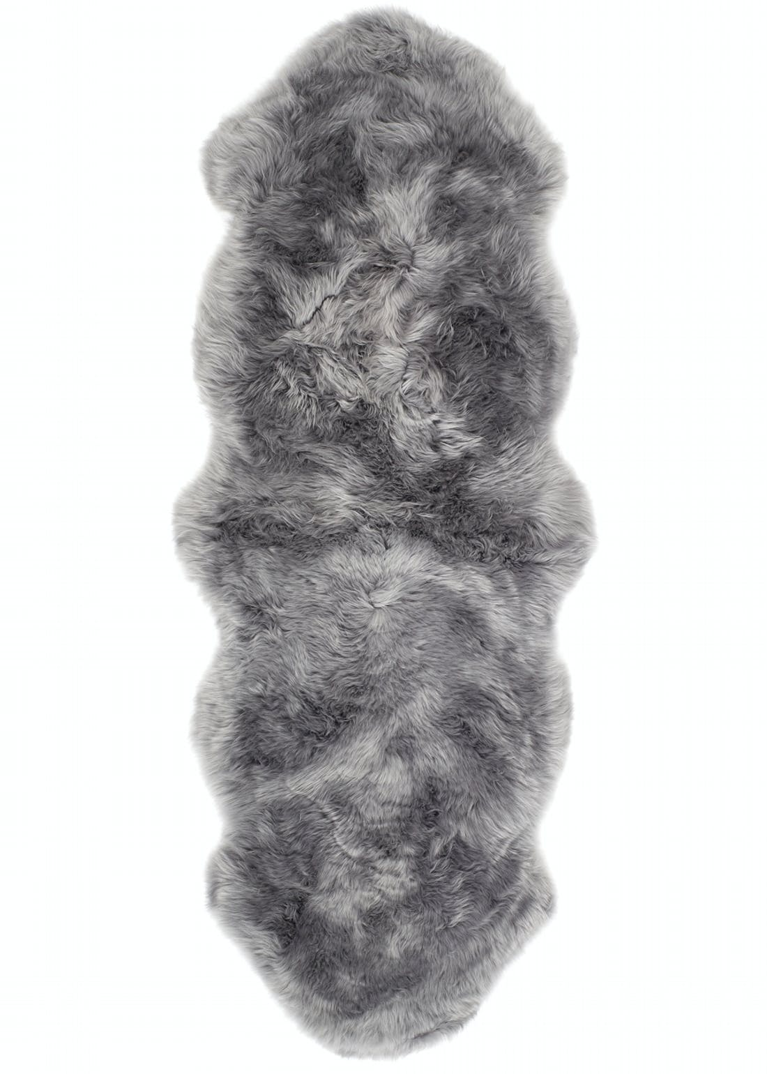 Origins Grey Genuine Sheepskin Rug (175cm x 70cm)