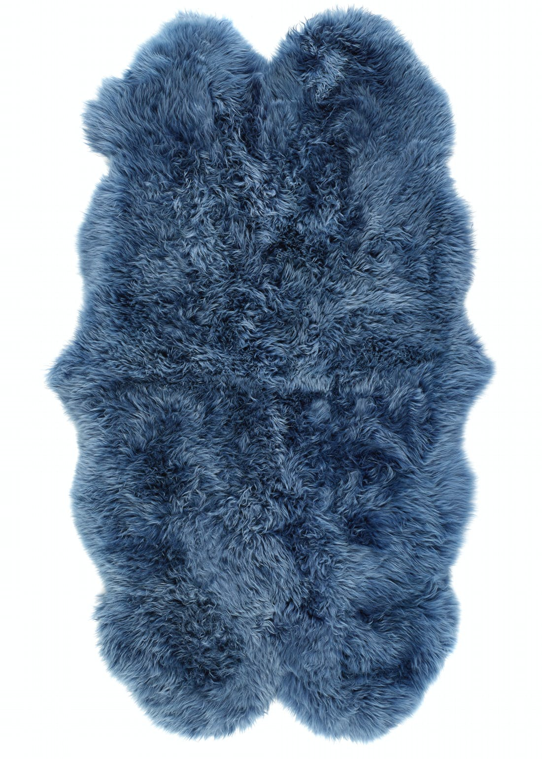 Origins Navy Genuine Sheepskin Rug