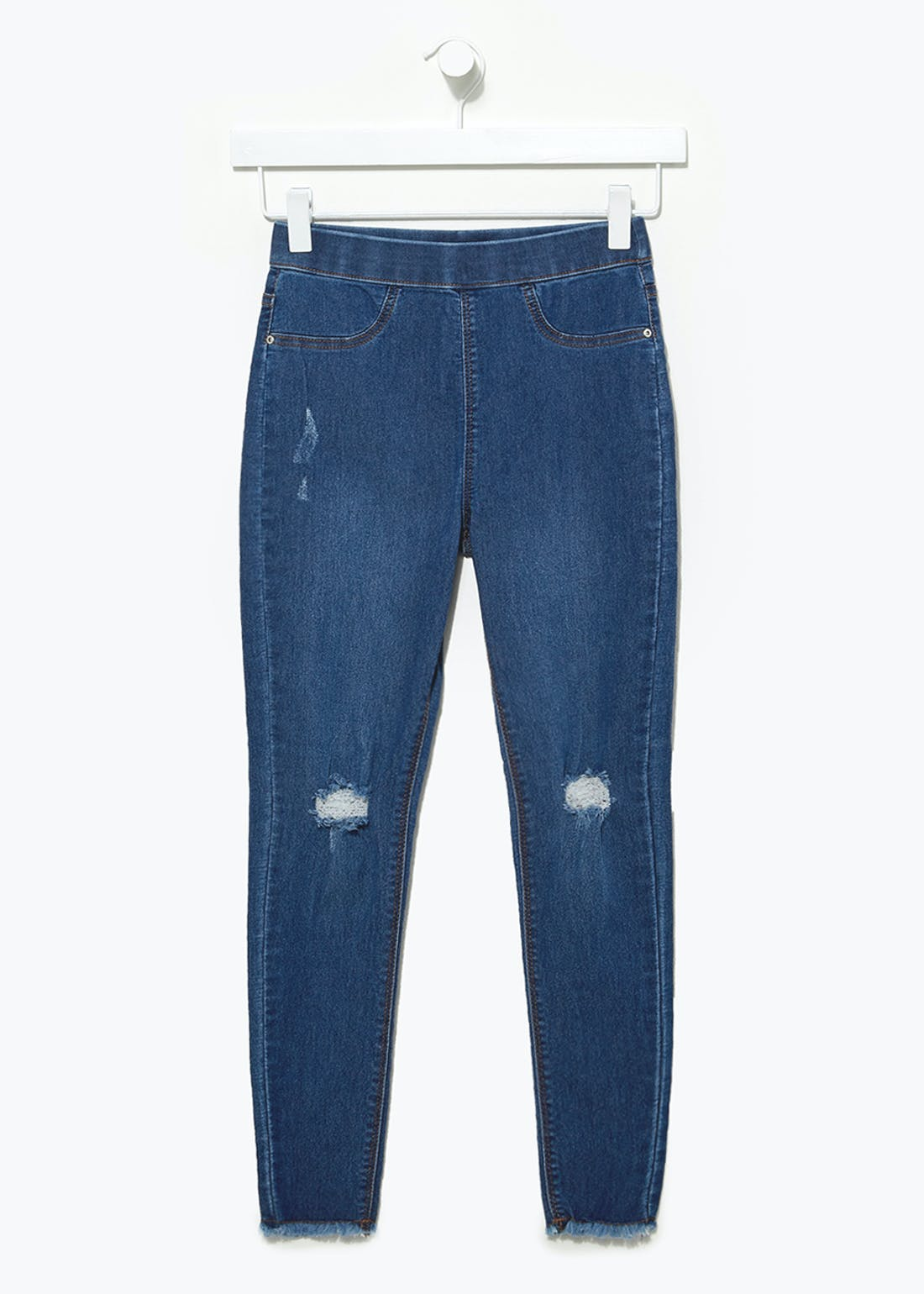 Girls Candy Couture Denim Jeggings (9-16yrs)