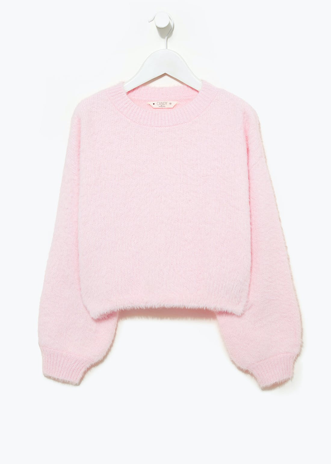 Girls Candy Couture Oversized Fluffy Jumper (9-16yrs)