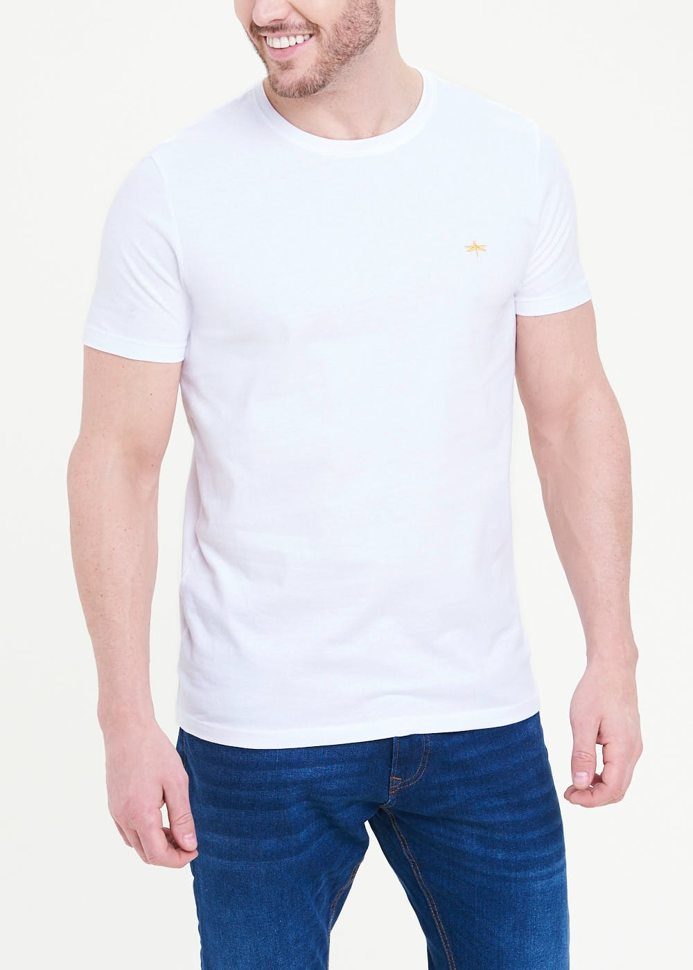 Soft Touch Slim Fit T-Shirt – White