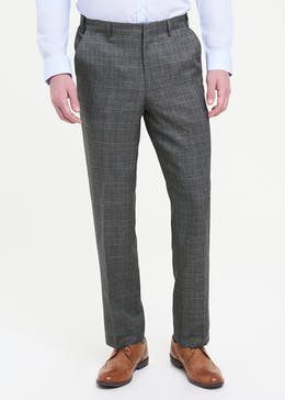 Taylor & Wright Flexi Waist Check Trousers