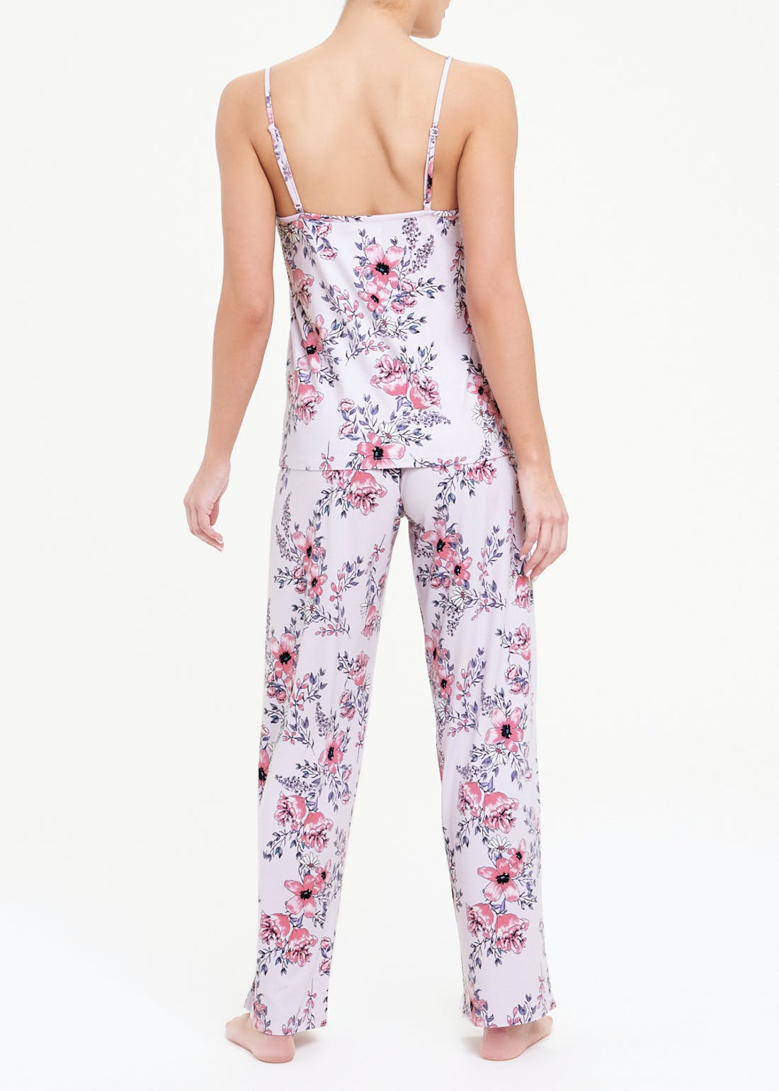 Soft Touch Floral Cami Pyjamas