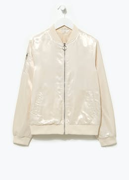 Girls Candy Couture Lightweight Bomber Jacket (9-16yrs)