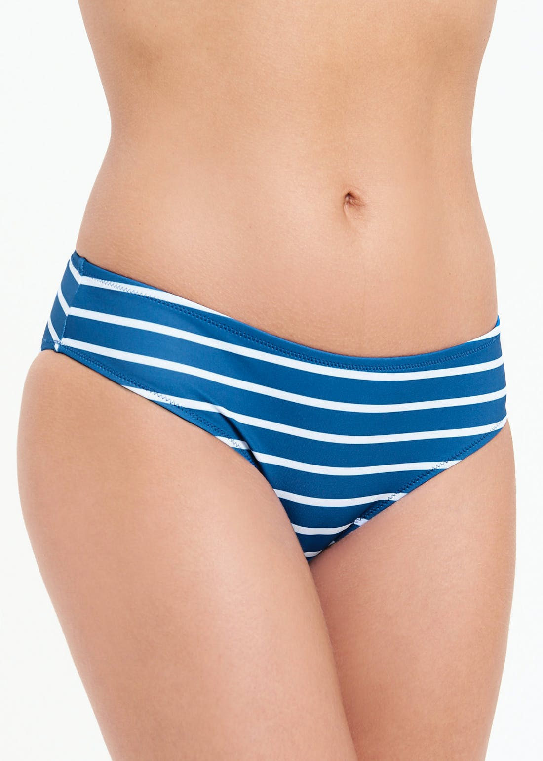 Striped Bandeau Bikini Bottoms