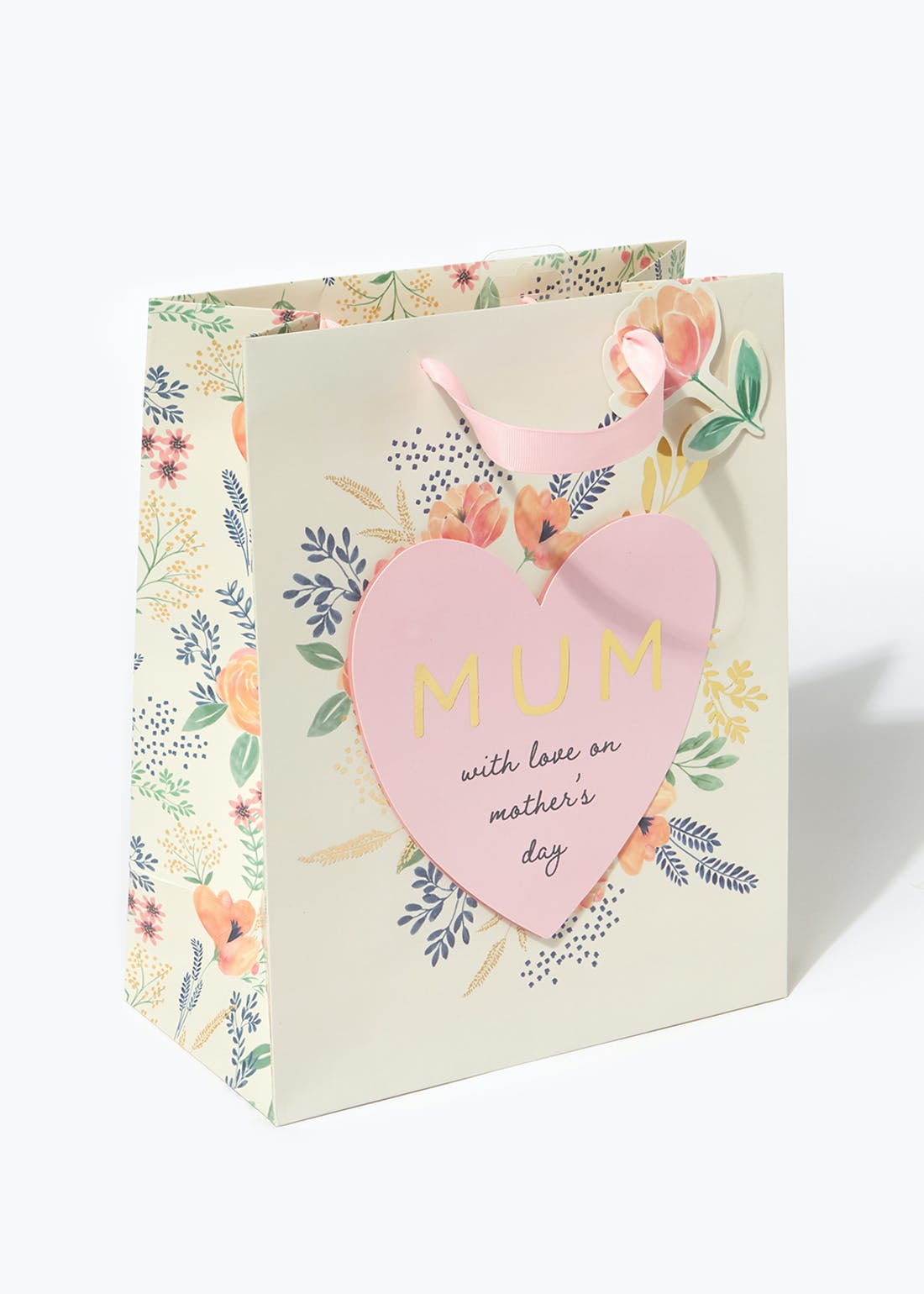 Mother's Day Large Gift Bag (26.5cm x 33cm x 14cm)