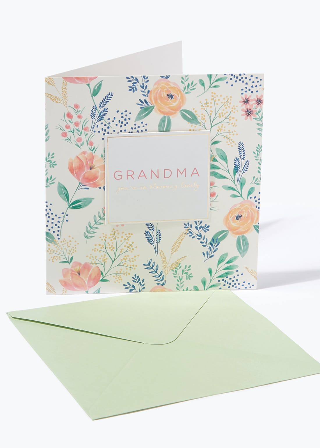 Mother's Day Grandma Card (19cm x 20cm)
