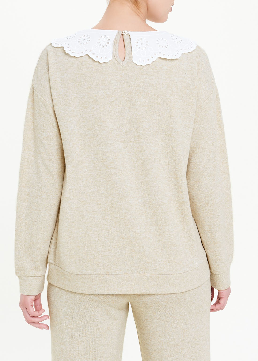 Soft Touch Collar Top