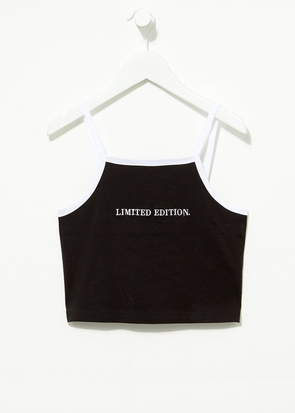 Girls Candy Couture Limited Edition Cropped Cami (9-16yrs) – Black