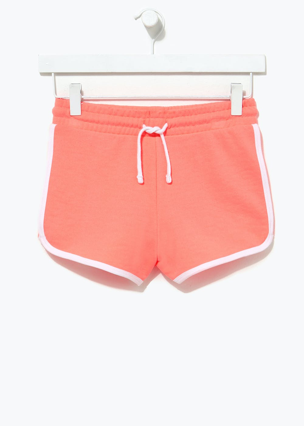Girls Candy Couture Runner Shorts (9-16yrs) – Coral