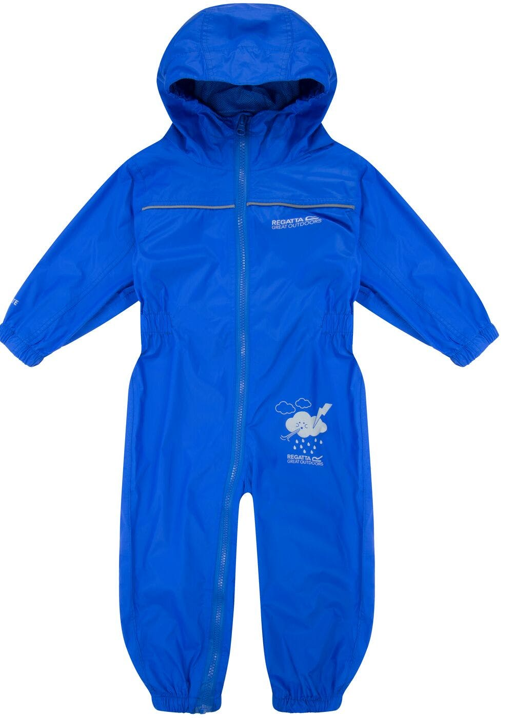 Kids Regatta Puddle IV Breathable Waterproof Puddle Suit (12mths-5yrs) –