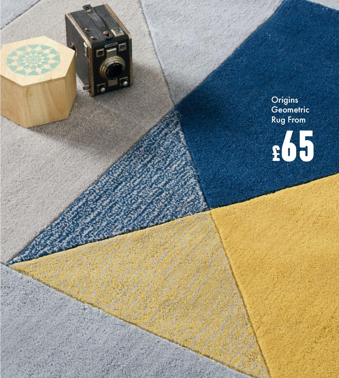 SHOP GEOMETRIC RUGS