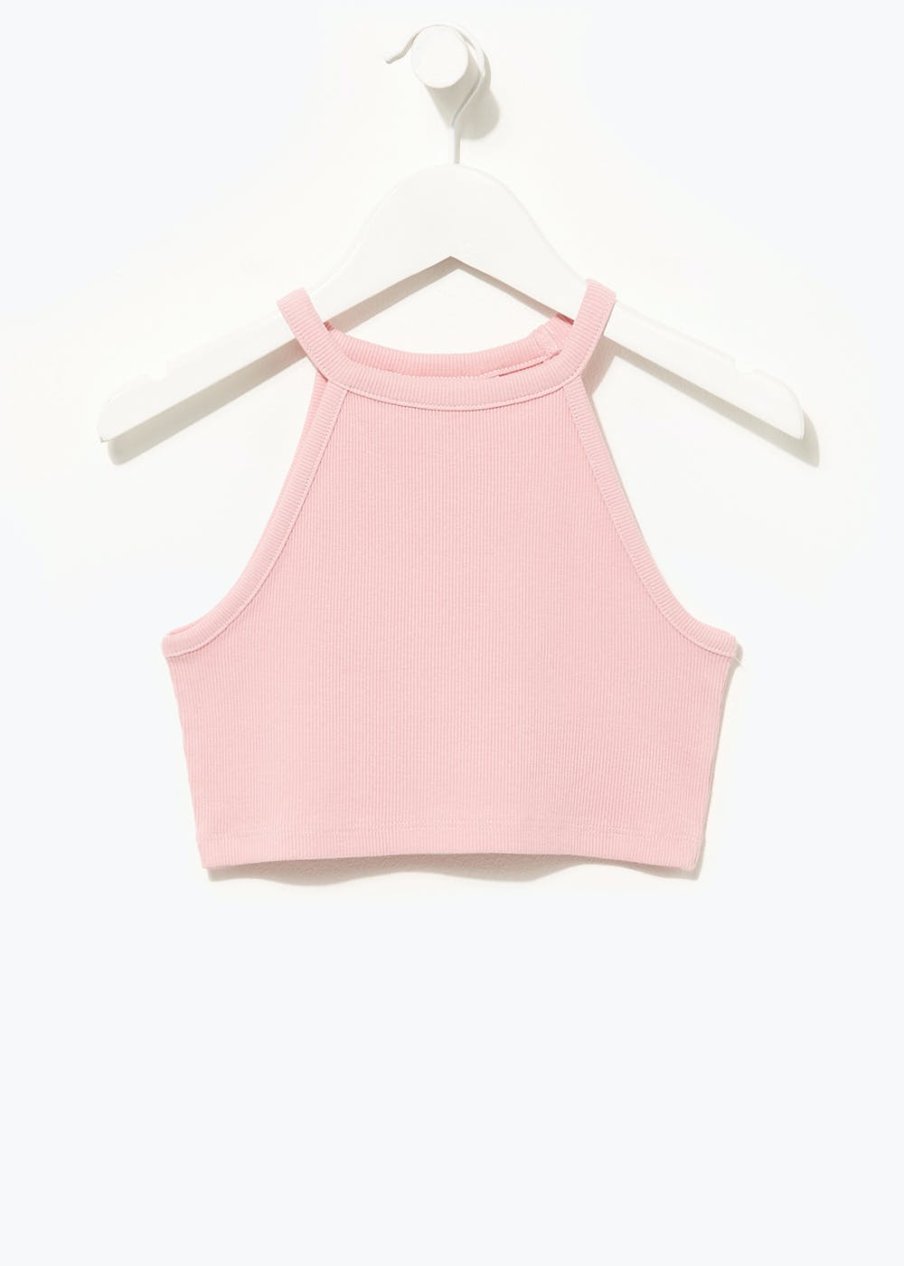 Girls Candy Couture Cropped Vest Top (9-16yrs) – Pink