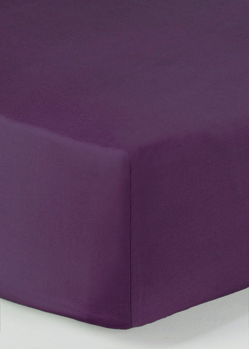 100% Cotton Deep Fitted Sheet (200 Thread Count)