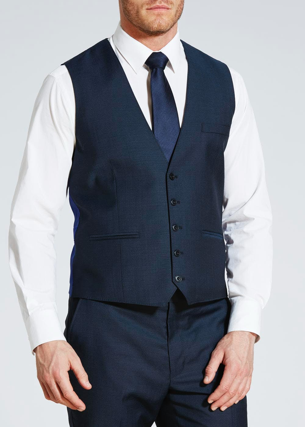 To say a suit is a wardrobe staple is a bit of an understatement, which is why we've got a fit, style and colour to work for everyone. Don't think of suits as just work wear, the right one will keep you looking smart at everything from meetings to date night, not to mention wedding season.