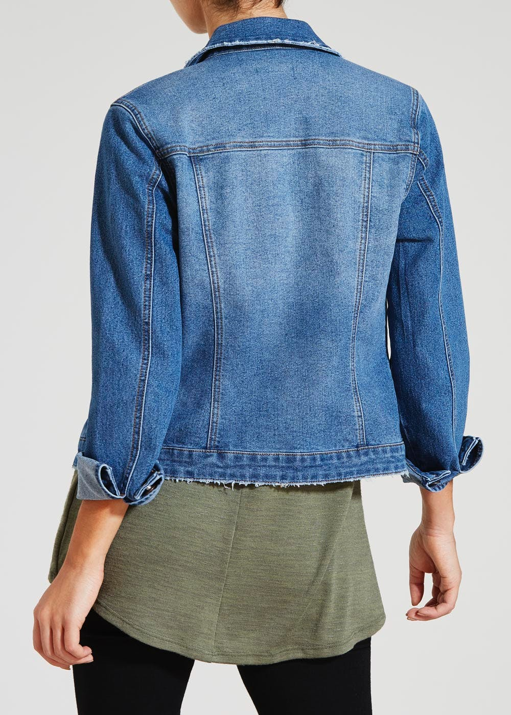 Denim Jacket – Midwash – Matalan