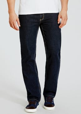 Farah Darkwash Straight Fit Jeans