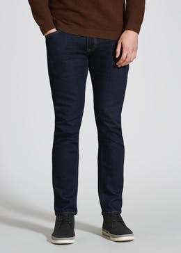 Stretch Slim Fit Darkwash Jeans