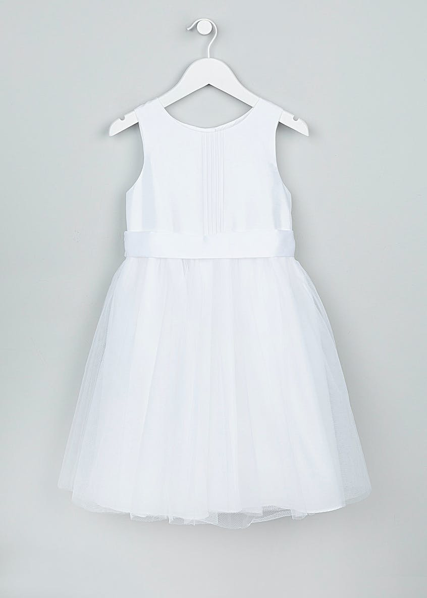 Girls Pintuck Flower Girl Dress (3mth-13yrs)