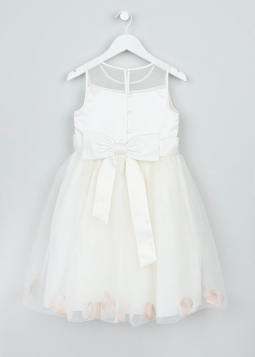 Girls Petal Flower Girl Dress (3mth-13yrs)