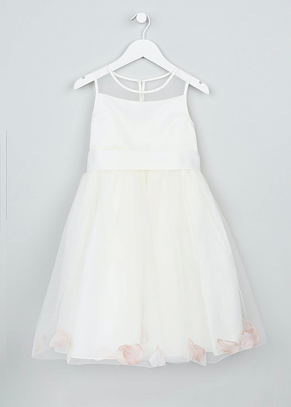 Girls petal bridesmaid dress 3mth 13yrs matalan girls petal bridesmaid dress 3mth 13yrs ombrellifo Gallery