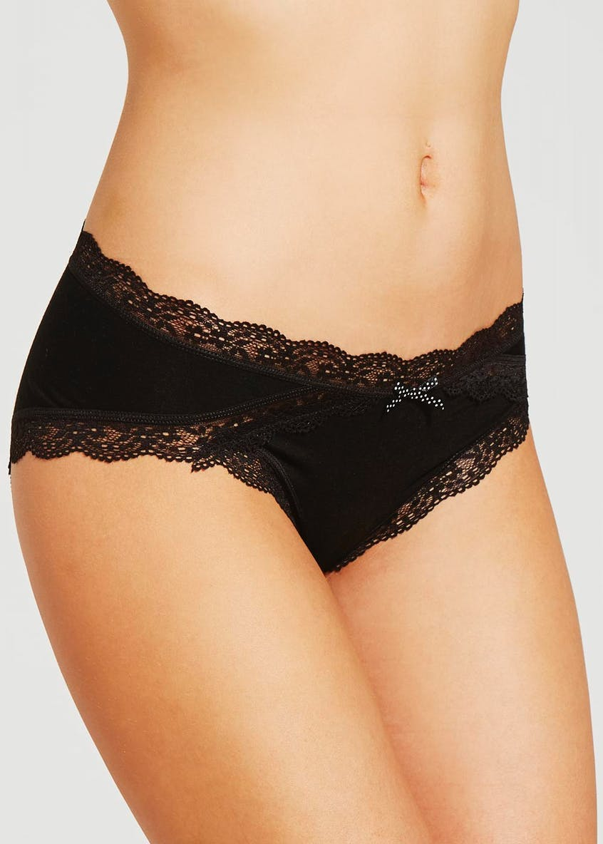 Lace Modal Short Knickers