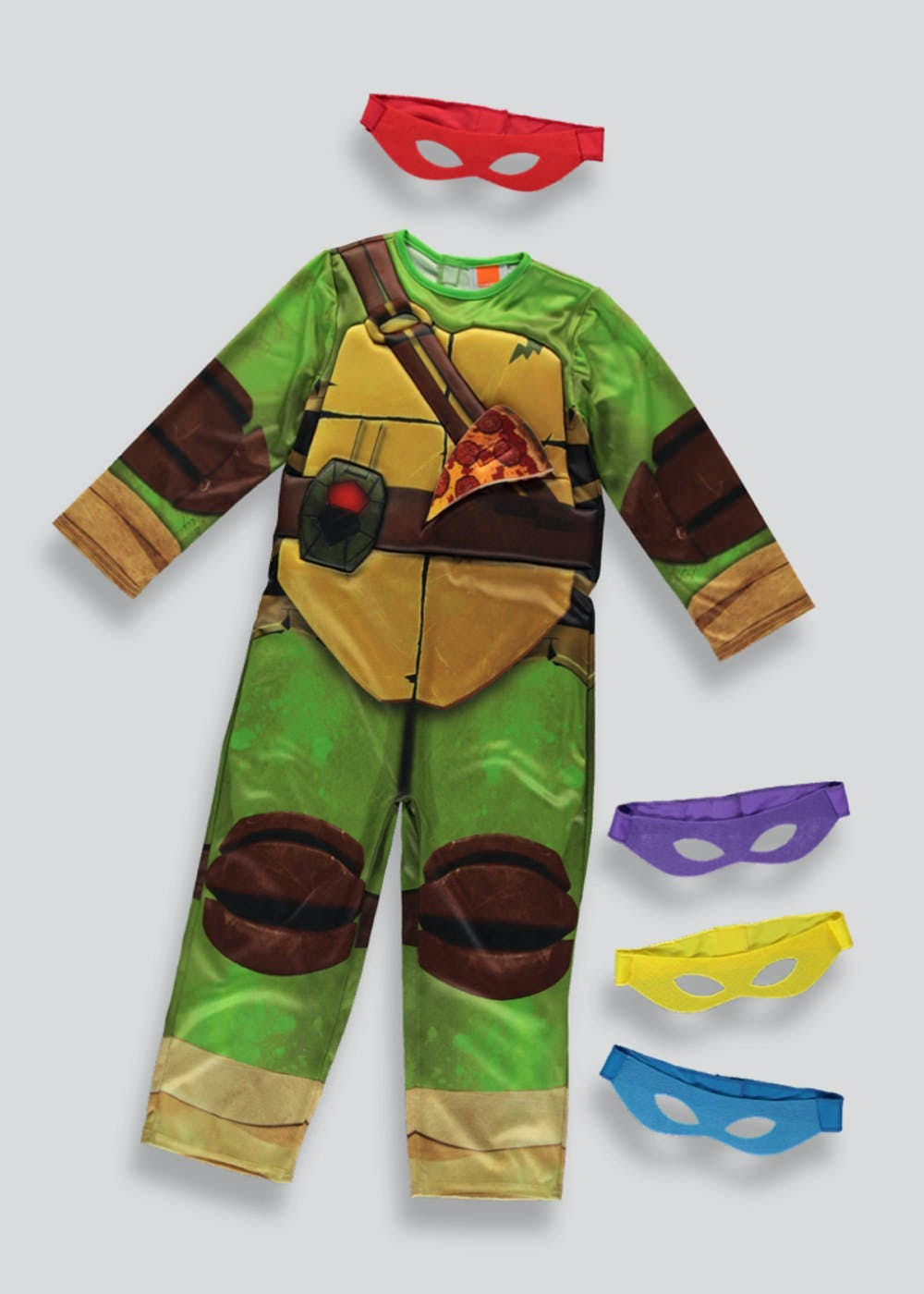 b340b4b21 Kids Teenage Mutant Ninja Turtle Dress Up Costume (4-11yrs) – – Matalan