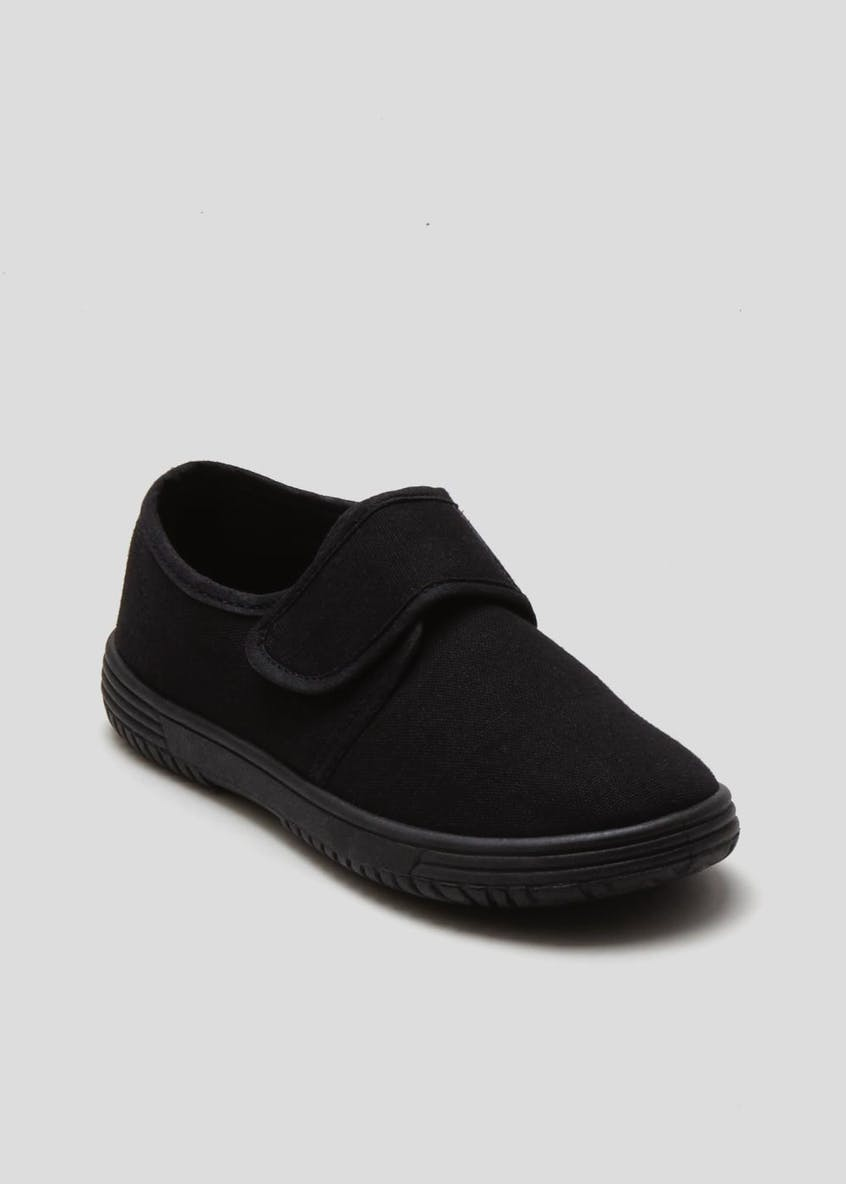 Kids Strap Plimsolls (Younger 7-Older 2)