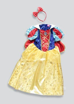 Kids Snow White Dress Up Costume (3-9yrs)