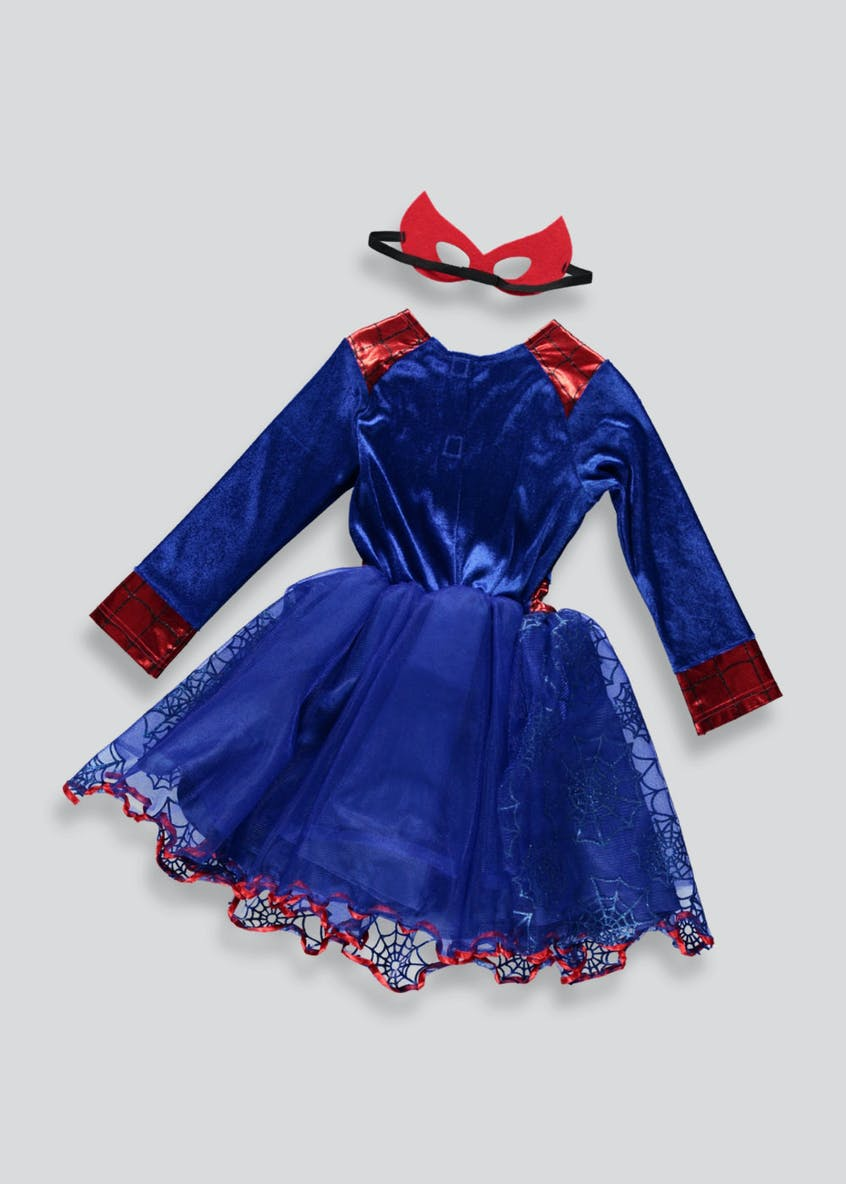 Kids Spider-Girl Fancy Dress Costume (3-9yrs)