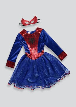 Kids Spider-Girl Dress Up Costume (3-9yrs)
