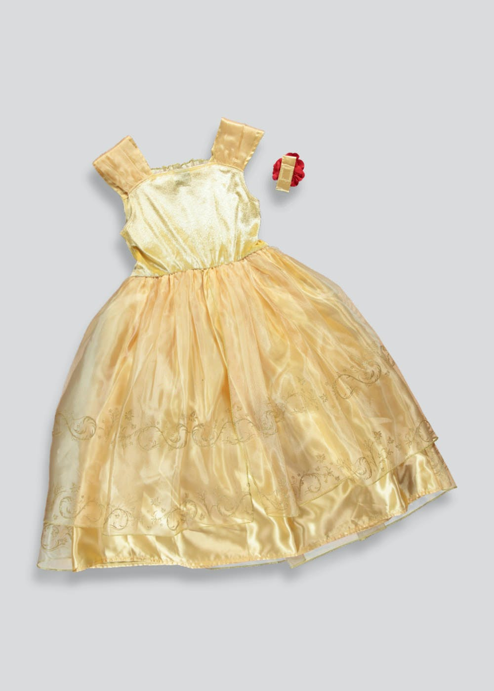 Kids Belle Beauty And The Beast Dress Up Costume 3 9yrs