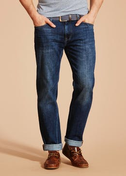 Lincoln Belted Jeans