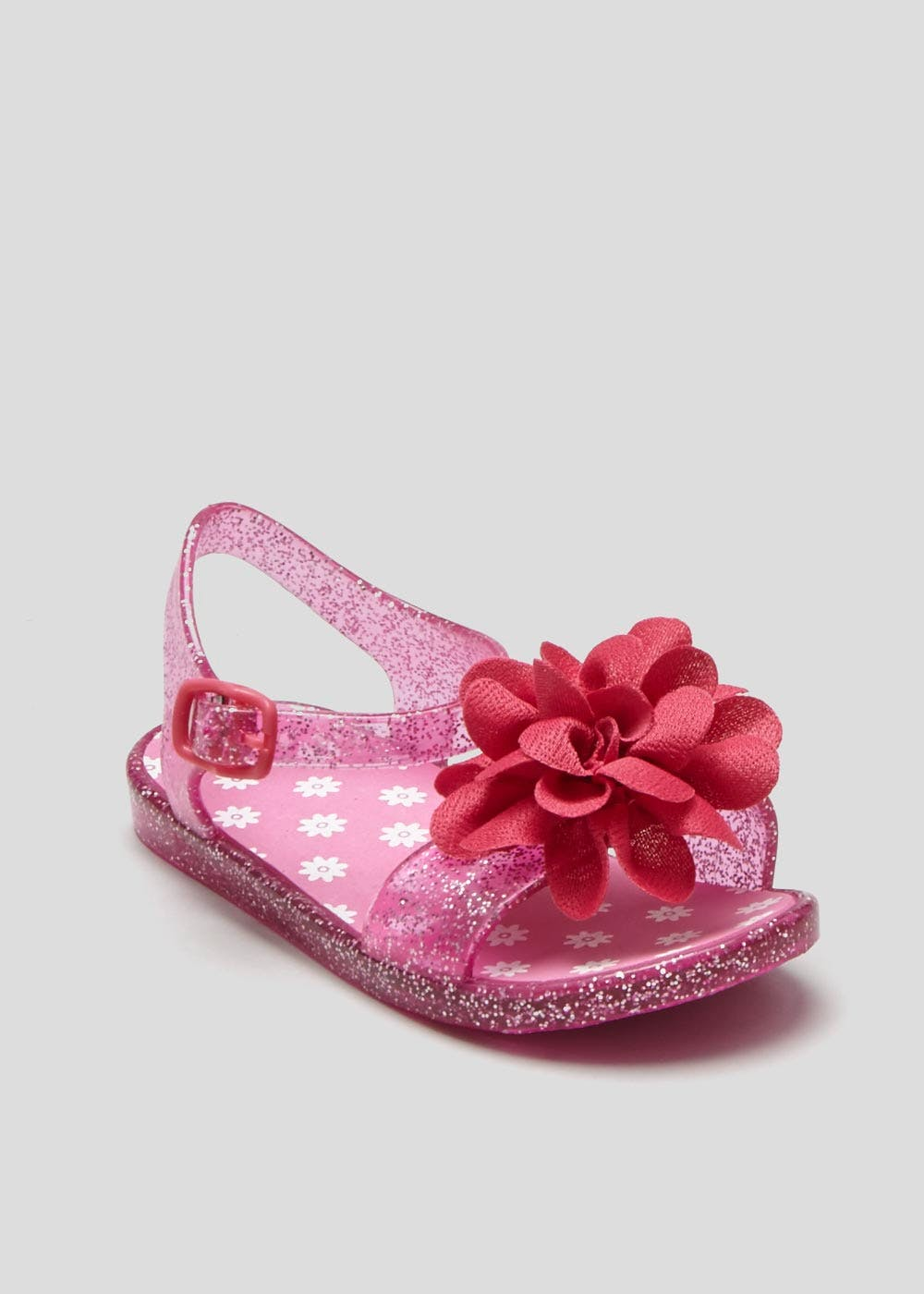 b3994b554f76 Girls Flower Jelly Shoes (Younger 4-12) – Pink – Matalan