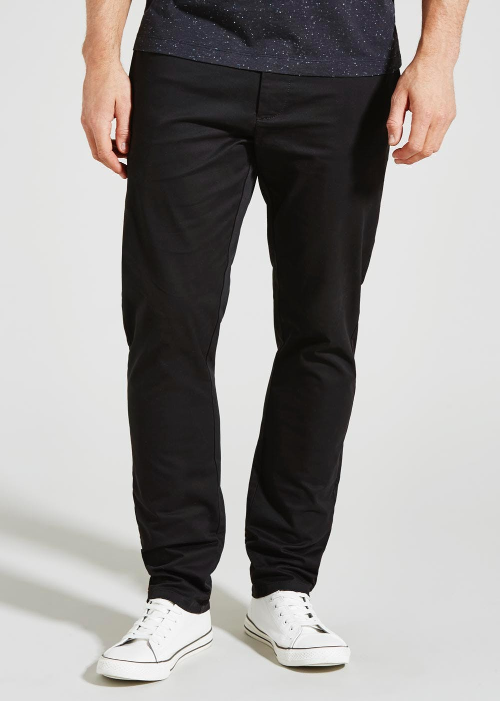 Chino Trousers Black Matalan