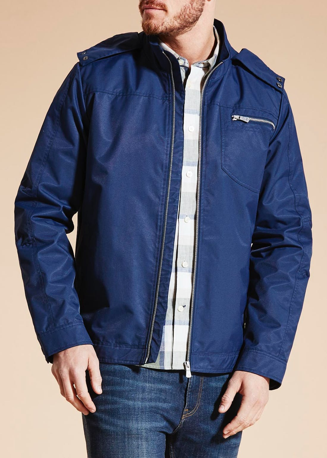 Morley Hooded Technical Jacket